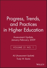 AU (Assessment Update) Assessment Update: Progress, Trends, and Practices in Higher Education, Volume 21, Number 1, 2009