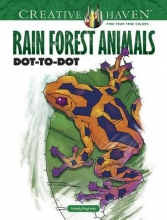 Roytman, Arkady Creative Haven Rain Forest Animals Dot-To-Dot