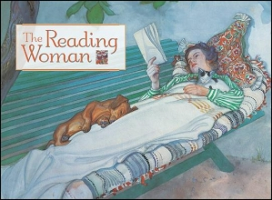 Notecards-Reading Woman-20pk [With 20 Envelopes]