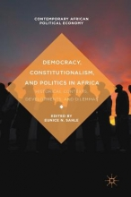 Eunice N. Sahle Democracy, Constitutionalism, and Politics in Africa