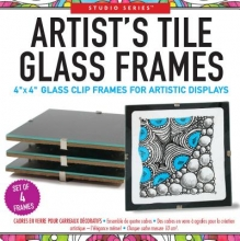 Studio Series Artist`s Tile Glass Frames (Set of 4 Clip Frames)