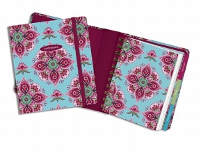 Cranberry Mandala Address Book