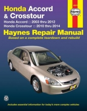 Haynes Publishing Honda Accord And CRosstour