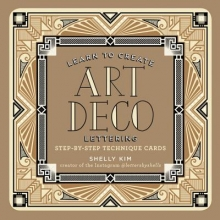 Kim, Shelly Learn to Create Art Deco Lettering