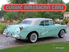 Classic American Cars 2017 Calendar