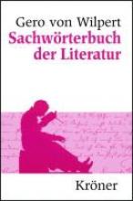 Wilpert, Gero von Sachw�rterbuch der Literatur