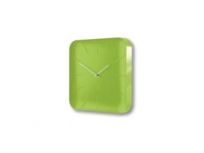 , wandklok Sigel Artetempus Inu Lemon Green met quartz uurwerk