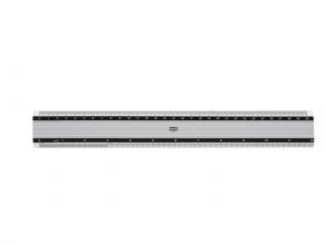 , Liniaal M+R 1830 300mm aluminium