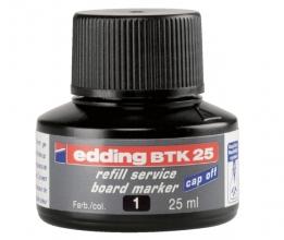 , Viltstiftinkt edding BTK25 voor whiteboard zwart
