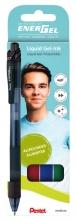 , Gelschrijver Pentel Energel-X BL107 0.4mm assorti
