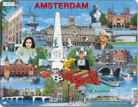 Larsen puzzel - Amsterdam toeristisch - KH11