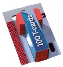 , Planbord T-kaart Jalema formaat 1 15mm rood
