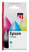 , Inktcartridge Quantore Epson T071240 blauw