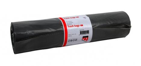 , Afvalzak Quantore LDPE T50 60L grijs extra stevig 25 stuks