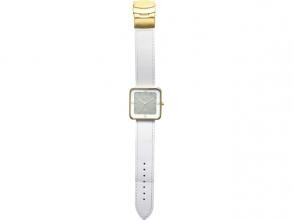 , Horloge NeXtime Square Wrist wit/goud