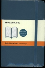 Moleskine Classic Colored Notebook, Pocket, Ruled, Underwater Blue
