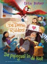Iris  Boter De DierenRidders De papegaai in de kast