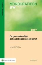 R.P. Wijne , De geneeskundige behandelingsovereenkomst