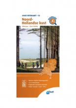 ANWB , Fietskaart Noord-Hollandse kust 1:66.666