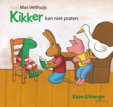 Velthuijs, Max Kikker kan niet praten