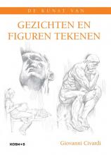 Giovanni  Civardi Gezichten en figuren tekenen