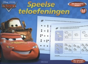 Disney speelse teloefeningen Cars 5-6 jaar, groep 2