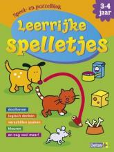 ZNU Speel- en puzzelblok  Leerrijke spelletjes (3-4 jaar)