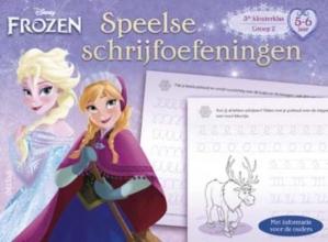 Disney speelse schrijfoefeningen(5-6 j.) Frozen