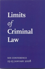 , Limits of Criminal Law