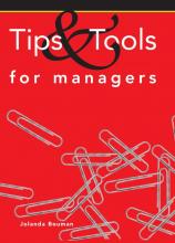 Jolanda Bouman, Tips & tools for managers
