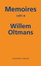 Willem Oltmans , Memoires 1987-B