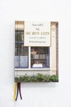Helma  Bongenaar Aan tafel bij Au Bon Coin