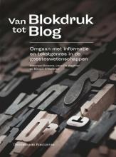 Koenraad  Brosens, Lieve De Wachter, Margot  D`Hertefelt Van blokdruk tot blog