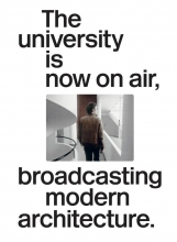 Joaquim Moreno The university is now on air, broadcasting modern architecture