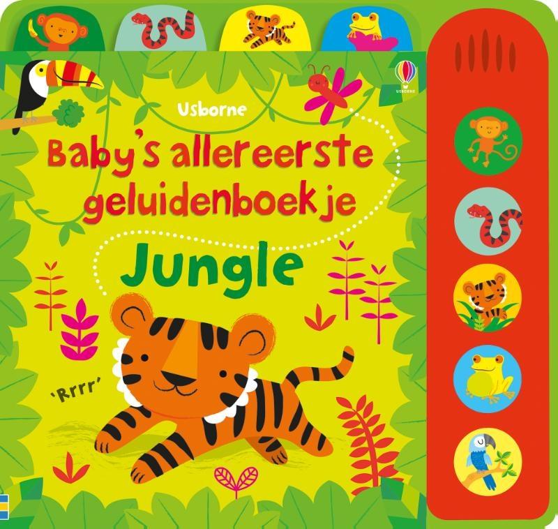 ,Baby`s allereerste geluidenboekje Jungle