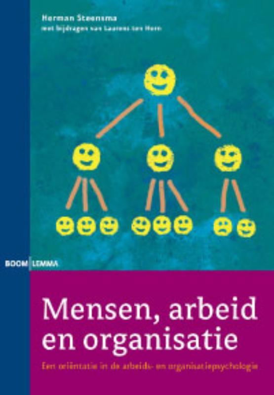 Herman Steensma, Laurens ten Horn,Mensen, arbeid en organisatie