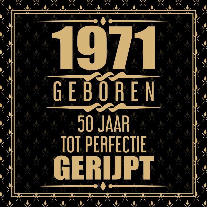 Niek Wigman,1971 Geboren 50 Jaar Tot Perfectie Gerijpt