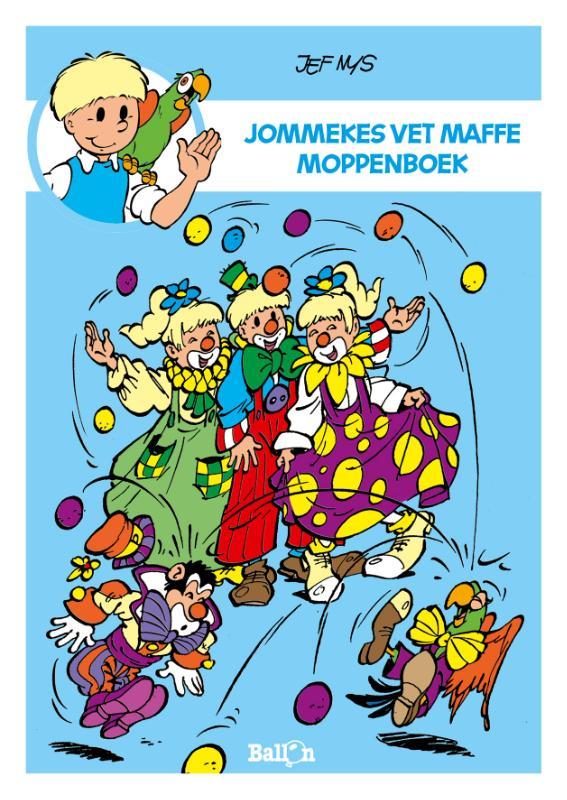 Jef Nys,Jommekes vet maffe moppenboek
