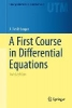 Logan, J. David,A First Course in Differential Equations