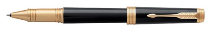 ,Rollerpen Parker Premier Lacquer deep black GT F