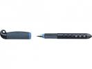 ,schoolvulpen Faber Castell Scribolino LH zwart/blauw