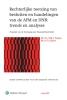 ,Rechterlijke toetsing van besluiten en handelingen van de AFM en DNB: trends en analyses