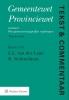 <b>L.L. van der Laan, R.  Nehmelman</b>,Gemeentewet Provinciewet