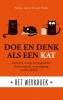 <b>Stephane  Garnier, Laura  Hawkins</b>,Doe en denk als een kat- Het werkboek
