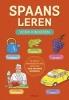 Spaans leren voor kinderen,zo leer je eenvoudig en snel meer dan 1000 Spaanse woorden