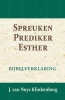 <b>J. van Nuys Klinkenberg</b>,Spreuken, Prediker, Hooglied