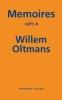 Willem  Oltmans,Memoires Willem Oltmans Memoires 1987-B