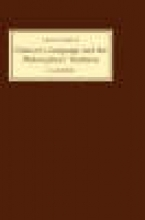 J.D. Burnley Chaucer`s Language and the Philosophers Tradition