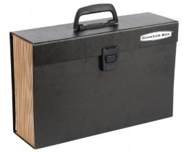 , Sorteerkoffer Bankers Box Handifile 19-vaks zwart