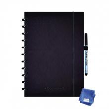, Notitieboek Correctbook A4 lijn 40blz premium ink black
